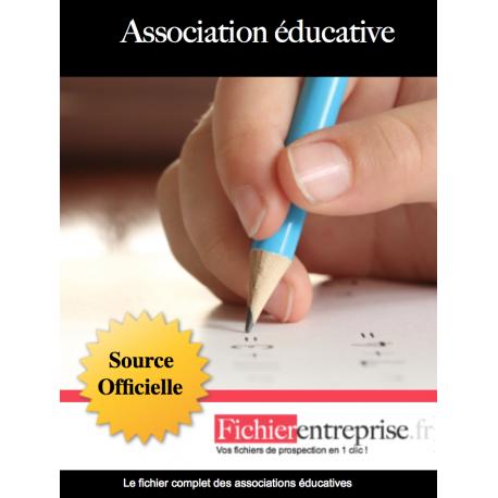 Fichier des associations éducatives