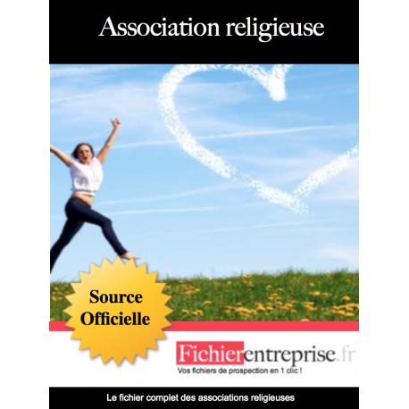 Fichier des associations religieuses