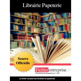 Fichier des librairies papeteries