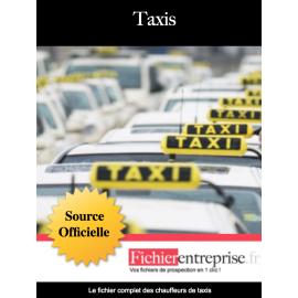 Fichier des taxis