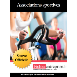 Fichier des associations sportives