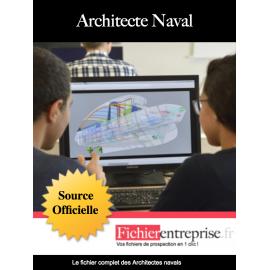 Fichier des architectes navals