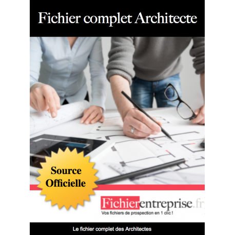 Fichier complet des architectes