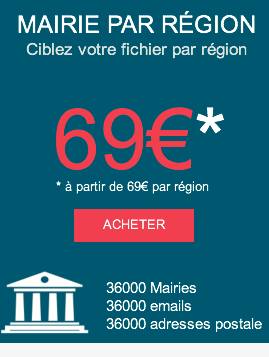mairie par region