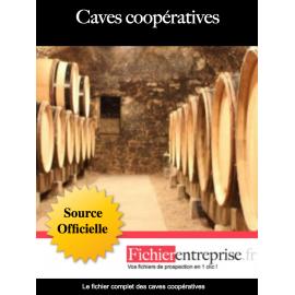 Fichier des caves coopératives