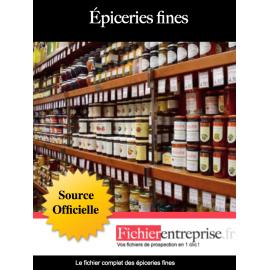 Fichier des épiceries fines