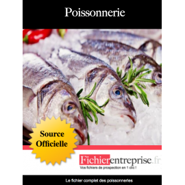 Fichier des poissonneries