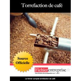 Fichier torrefaction de café