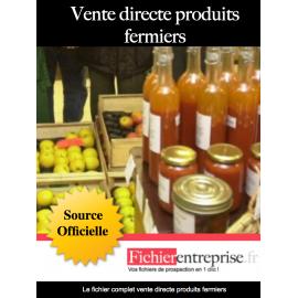 Fichier vente directe produits fermiers