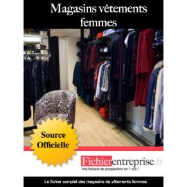 Fichier magasin vêtements femmes