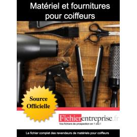 Fichier revendeur de matériel pour coiffeurs