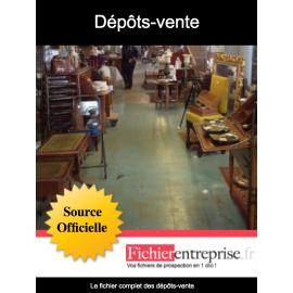 Fichier dépôts-vente