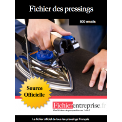 Fichier des pressings