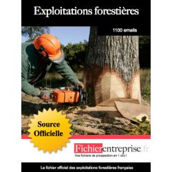 Fichier des exploitations forestières