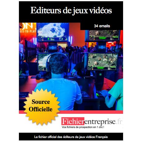 Fichier des éditeurs de jeux vidéos