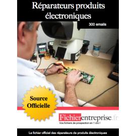 Fichier réparateurs de produits électroniques