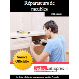 Fichier réparateurs de meubles