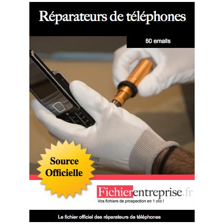 Fichier des réparateurs de téléphones