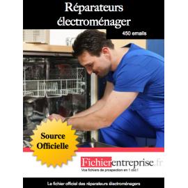 Fichier des réparateurs électroménager