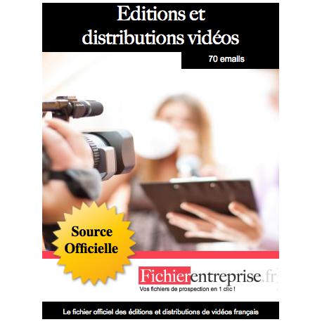 Fichier éditeurs et distributeurs de vidéos