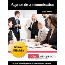 Fichier des agences de communication