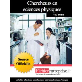 Fichier des chercheurs en sciences physiques