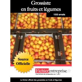 Fichier des grossistes en fruits et légumes