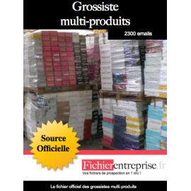 Fichier des grossistes multi-produits