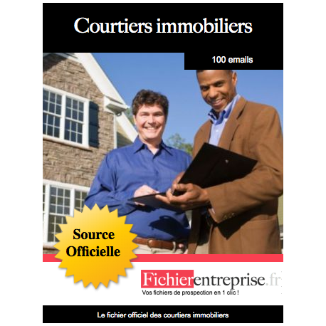 Fichier email des courtiers immobiliers - Chambre des courtiers immobiliers ...