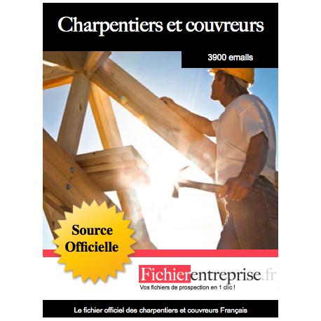 Fichier des charpentiers et couvreurs