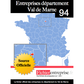 Fichier email 94 Val de Marne
