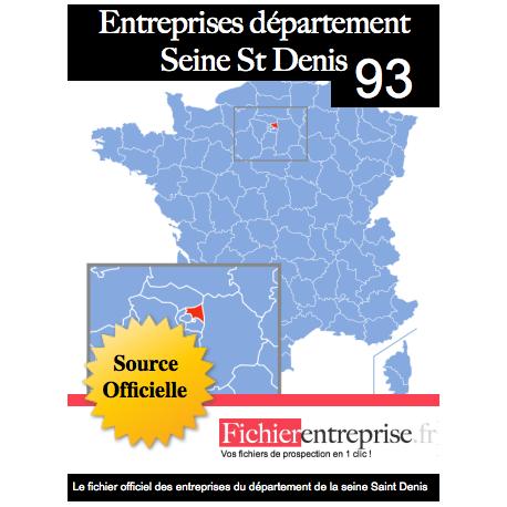 Fichier email 93 Seine Saint Denis