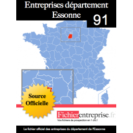 Fichier email 91 Essonne