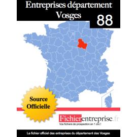 Fichier email 88 Vosges