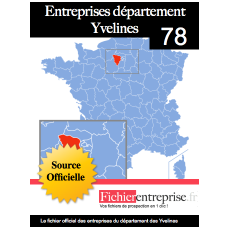 Fichier email 78 Yvelines