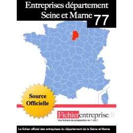 Fichier email 77 Seine et Marne