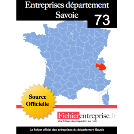 Fichier email 73 Savoie