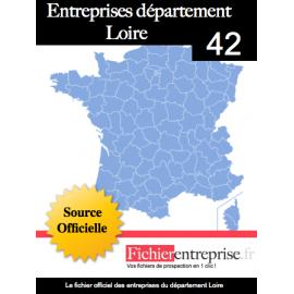 Fichier email 42 Loire