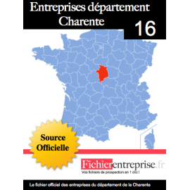 Fichier email 16 Charente