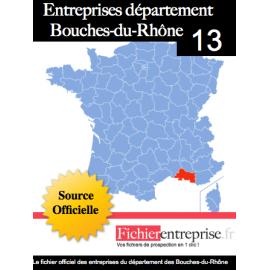 Fichier email 13 Bouches-du-Rhône