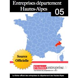 Fichier email 05 Hautes-Alpes