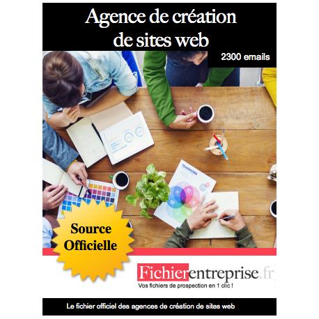 Fichier des agences de création de sites web