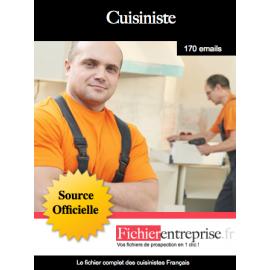 Fichier des cuisinistes