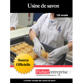 Fichier des usines de savon