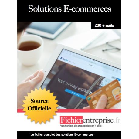 Fichier des solutions E-commerces