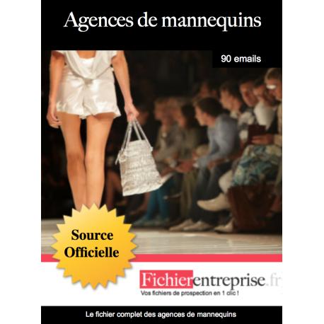 Fichier des agences de mannequins