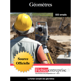 Fichier des géomètres