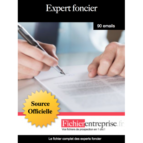 Fichier des experts fonciers