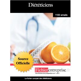 Fichier des diététiciens