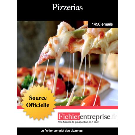 Fichier des pizzerias